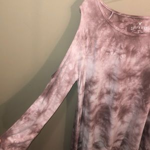 American Eagle Outfitters Tops - american eagle soft & sexy cold shoulder shirt